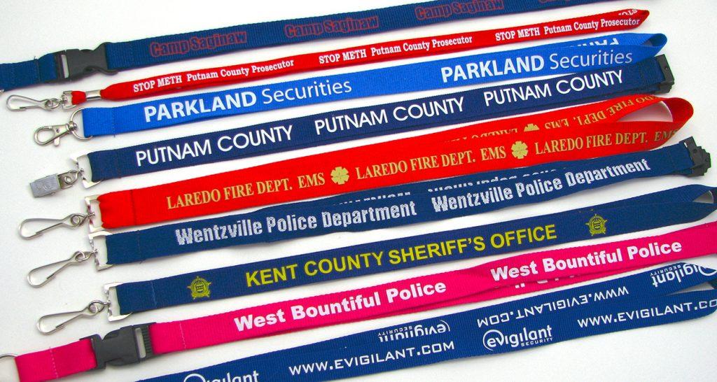 police lanyards